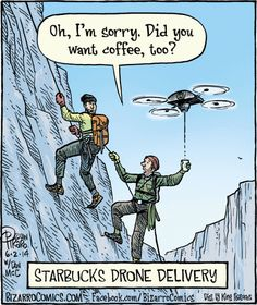 Starbucks delivery anyone?  #starbuckscoffee #dronedelivers #rcdrones #rc #drones #delivery   The Home of Insanely Cool RC Drones! http://www.coolrcdrones.com/