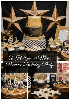 A Hollywood Movie Premiere Birthday Party. Creative Designs by Toni ~ my life homemade
