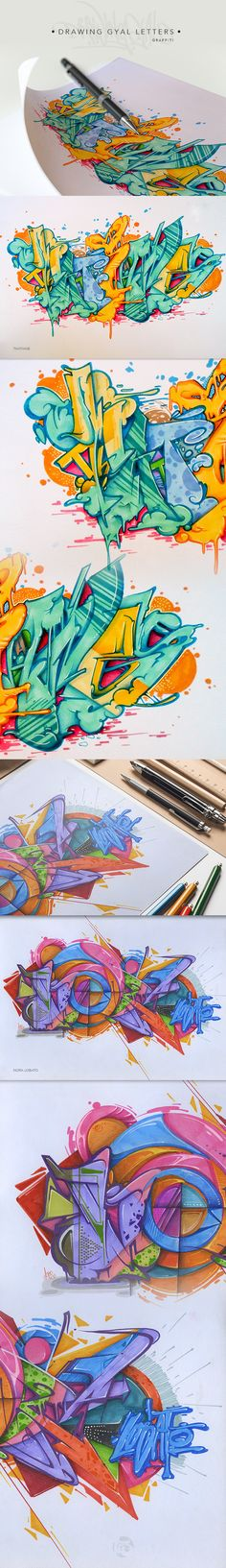DRAWINGYALETTERS on Behance