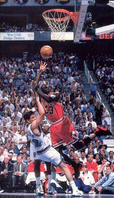 Jordan Off Balance, '98 Finals.