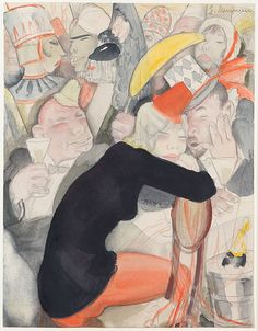 Jeanne Mammen, Untitled, c. 1930 | Flickr - Photo Sharing!