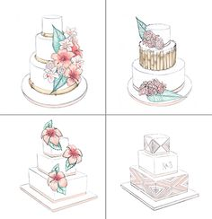 Brides: Vote Now for the 2015 Brides Live Wedding Cake