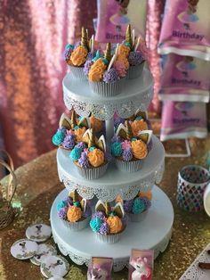 Unicorn Princess, Party Themes, Birthday Cake, Desserts, Food, Tailgate Desserts, Deserts, Birthday Cakes, Essen