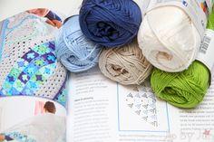 Colorful crochet Jip by Jan Omslagdoek uit Haken en kleur  Crochet wrap