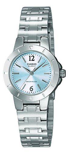 Casio Montre Femme Analogique Quartz avec Bracelet en Acier Inoxydable – LTP -1177PA-2A 850dd4bee524