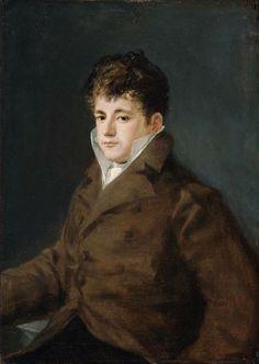 Francisco de Goya - Retrato de un hombre