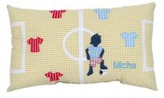 Personalized Pillow for Soccer-Fans Football Pillow for the big fans!