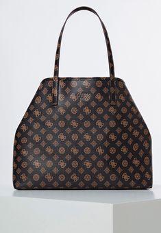 Guess POCHETTE - Shopping Bag - brown - Zalando.at Guess Bags, Louis Vuitton Damier, Shopping Bag, Pattern, Fashion, Get Tan, Bags, Guess Handbags, Moda
