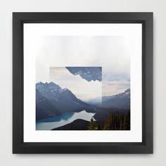 Vacant.  Framed Art Print