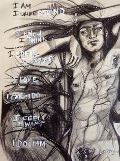 10 Tuesdays. 10 Fridas. Art Blog Event. Frida No. 3: The Chakras   Katarina Thorsen Art Blog