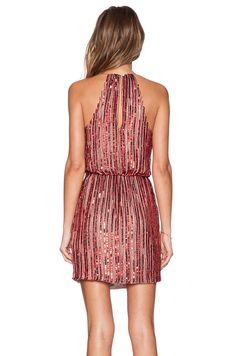 Parker Black Catarina Sequin Dress em Vermelho | REVOLVE