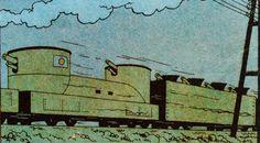 El Loto Azul - Tren blindado japonés