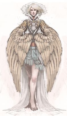 """darkimperialblue: """" Old harpy drawing for the monster girl challenge that I have never finished ; Fantasy Character Design, Character Concept, Character Inspiration, Character Art, Female Monster, Monster Girl, Monster Party, Fantasy Kunst, Fantasy Art"""