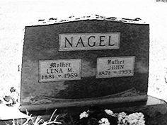 NAGEL, JOHN - Jackson County, Iowa   JOHN NAGEL
