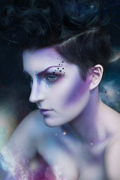 Kind of weird to find a picture of you on pinterest!  AMAZING make up by MARIKA D'AUTEUIL