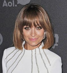 Nicole Richie Updates Her Hair With A Sleek Bob And Fringe - Is This Her Best Hair Look? | Grazia Beauty