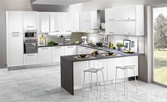 Hot Gourmet Sandwiches From Bella Cucina Panini Press in Your Own Kitchen Kitchen Room Design, Kitchen Cabinet Design, Modern Kitchen Design, Interior Design Kitchen, Small Kitchen Diner, Open Plan Kitchen Dining Living, Living Room Kitchen, Cuisines Design, Home Kitchens