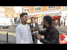 Amazing Conversion to Islam in 8 minutes ! 'Live' Street Dawah - YouTube