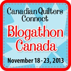 Sew Sisters Quilt Shop is hosting a fantastic week long Blogathon starting November 18th featuring some of the most exciting Canadian quilters and thier blogs. There will be lots of fun and sponsored prizes from Aurifil Quilt Patchwork and Embroidery Threads, Robert Kaufman Fabrics and Northcott Fabrics.  To read more please visit http://sewsisters.blogspot.ca/p/blogathon-canada-2013.html