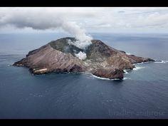 NZ White Island volcano erupting - shot 31 Jan 2013 by Geoff Mackley, Bradley Ambrose.
