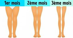 Ces quelques exercices ne te prendront que trois minutes par jour et te permettront d'affiner tes jambes rapidement