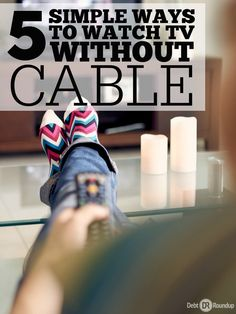If you're like me, then you hate paying for cable. They constantly raise the price and you get nothing more. For the past few years, I've broken up with cable and decided to watch TV with different services that cost much less. Here are five of them and they rock!