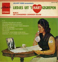 Liedjes uit 't hart gegrepen - De zangeres zonder naam. LP cover