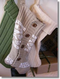 DIY Christmas Stockings That Look More Expensive Than They Are