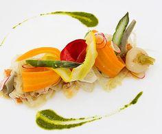 """Légumes du Marché Restaurant  """"La Réserve""""  Ramatuelle Chef Eric Canino"""
