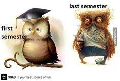 First semester/last semester