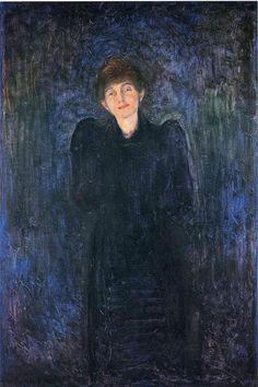 Edvard Munch Woman In Blue