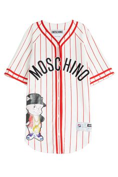 BASEBALL JERSEY T-SHIRT DRESS GR. IT 38 MOSCHINO
