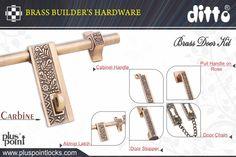 Door Kits, Hardware, Brass, Doors, Computer Hardware, Gate, Rice
