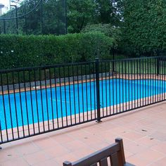 30 Home Metals Ideas Pool Safety Fence Safety Fence Steel Flowers