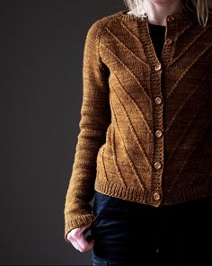 Ravelry: Winterfell Cardigan Aran pattern by Katrin Schneider