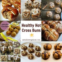 Healthy Hot Cross Buns - Healthy Easter Natural New Age Mum Healthy School Snacks, School Lunches, Healthy Treats, Easter Recipes, Easter Ideas, Clean Eating, Healthy Eating, Hot Cross Buns, Holiday Appetizers