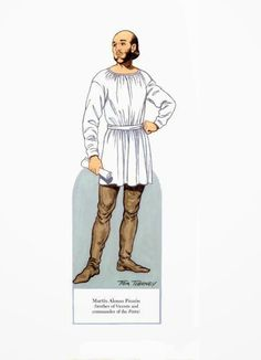 Christopher Columbus paper dolls - Onofer-Köteles Zsuzsánna - Picasa Webalbum * 1500 free paper dolls for girls at Arielle Gabriel's International Paper Doll Society and travel stories for women at The China Adventures of Arielle Gabriel *