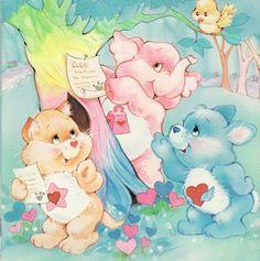 Care Bear Cousins: Proud Heart Cat, Lotsa Heart Elephant & Swift Heart Rabbit Care Bear Tattoos, Care Bears Vintage, Care Bear Party, Dibujos Cute, Rainbow Brite, Old Cartoons, Cute Cartoon, Kitsch, Cartoon Characters