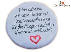 Liebeszitat-5cm-Button-Anstecker-groß-Liebe+von+Buttons&Books+auf+DaWanda.com