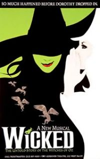 Wicked: The book has some dark and confusing parts.  I was not impressed but I did love the musical.