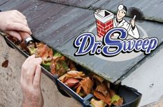 Check it out!!  Get all those falling leaves cleaned out of your gutters now with Dr. Sweep - Full Gutter Cleaning for a 1-Story House for $85 -OR- Full Gutter Cleaning for a 2-Story House for $99.95 1 Story House, Gutter Cleaning, Thing 1, Falling Leaves, Check, Food, Essen, Meals, Yemek