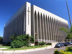 Dom Bosco church. Brasilia, Brazil