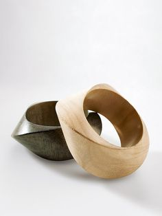 Wooden Jewelry, Resin Jewelry, Jewelry Art, Jewelry Design, Wood Bracelet, Bangle Bracelets, Bangles, Wood Rings, Schmuck Design