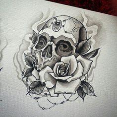 Las 93 Mejores Imágenes De Calavera Tattoo En 2015 Cráneos Y