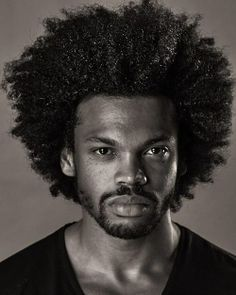 Wish my afro looked like this... Maybe I'd rock it instead of locs