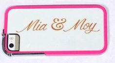 Mia & Moy iphone cover <3