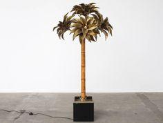 Large Maison Jansen Palm Tree Floor Lamp image 3