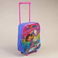 """Dora 12"""" Rolling Backpack"""