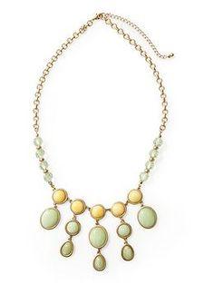 Pim + Larkin Cabachon Necklace   Piperlime
