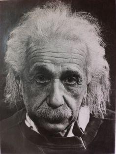 Albert Einstein by S-Messias.deviantart.com on @deviantART